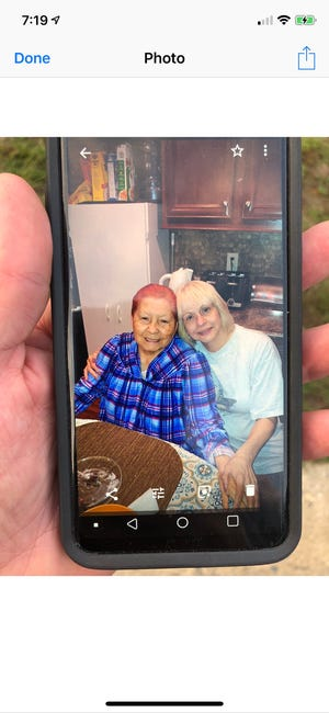 Dora Rabkin, 92, (left) has disappeared in the Whiting section of Manchester.