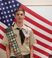 Michael McRoy, Wylie senior and 2018 Star Student who achieve Eagle Scout rank