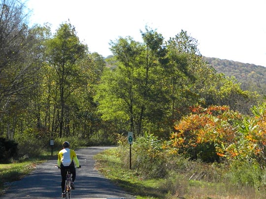 The Pine Creek Rail Trail through the Pennsylvania Grand Canyon has been rated one of the best in the world for bicyclists.