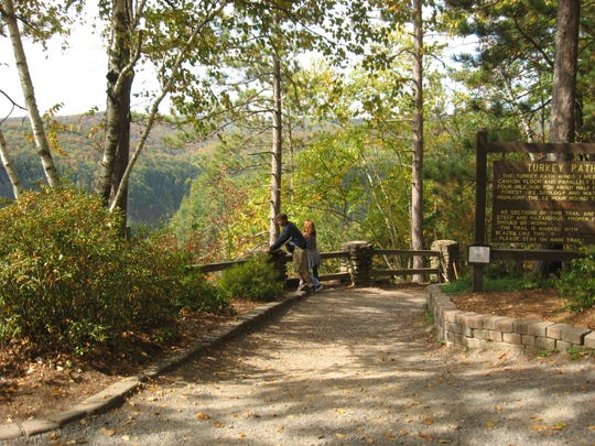 Pine Creek Gorge - better known as the Pennsylvania Grand Canyon - has a variety of hiking and biking trails.