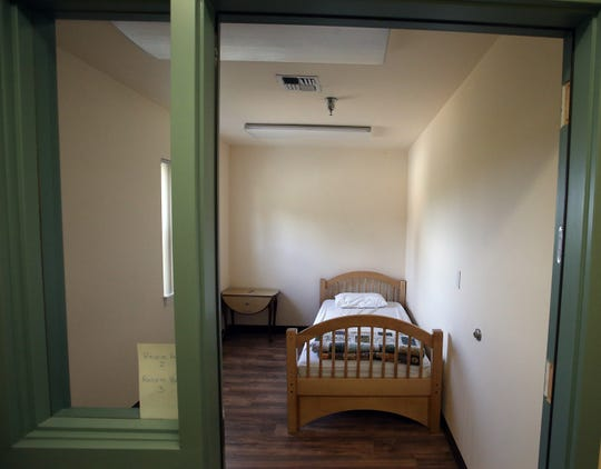 A respite room at the Benedict House in Bremerton.