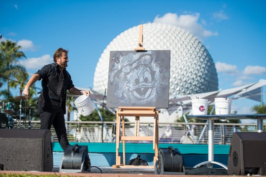 Artists will showcase their talents during the Epcot International Festival of the Arts, Jan. 18-Feb 25, 2019, at Walt Disney World Resort. The event combines visual, culinary and performing arts, including the Disney on Broadway Concert Series.