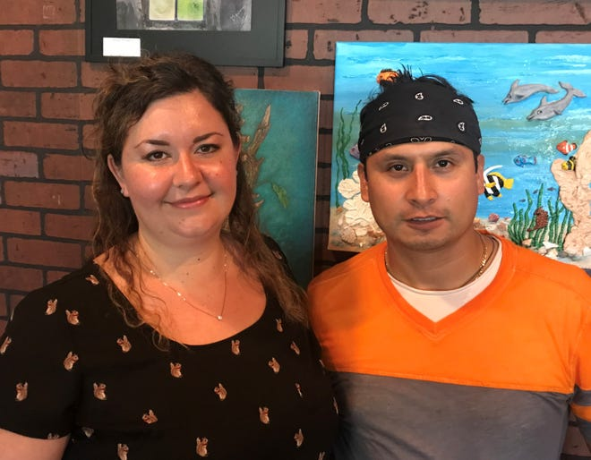 Megan and Otilio Gonzalez are owners of the Nomad Cafe in downtown Melbourne.