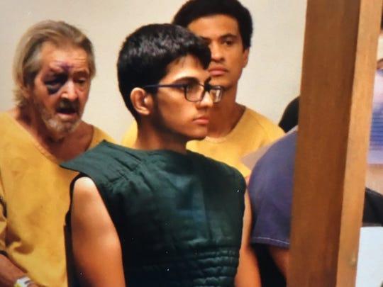 Nishall Shankat in court.