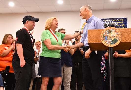 Gov. Rick Scott visits Promise In Brevard