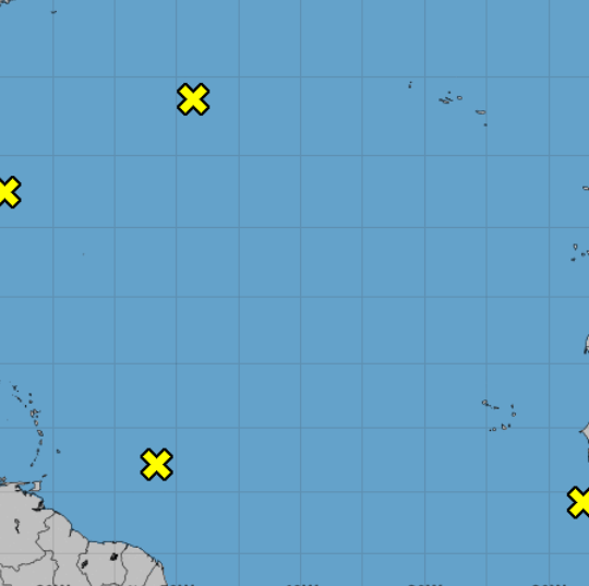 4 tropical systems swirling in Atlantic a week after Hurricane Florence made landfall