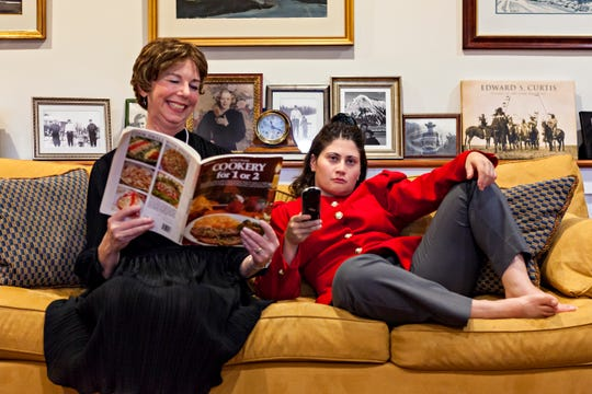 """Stowe Theatre Guild's fall 2018 production of """"The Odd Couple (Female Version)"""" is performed October 3-20, with shows at 7:30 p.m. Wednesdays through Saturdays at Town Hall Theatre."""