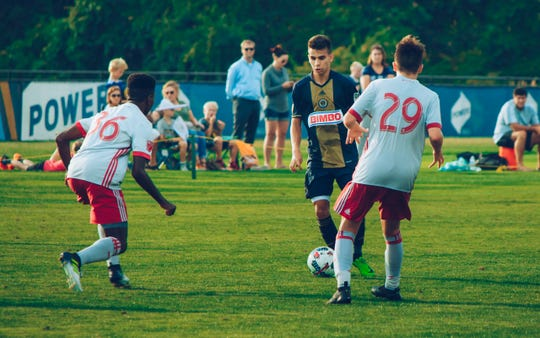 Selmir Miscic, 15, is the youngest signing in Bethlehem Steel FC history.