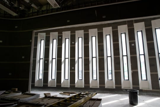 The chapel for in the under construction Patient Care Tower at Christus Spohn Hospital Shoreline on Wednesday, Sept. 19, 2018.