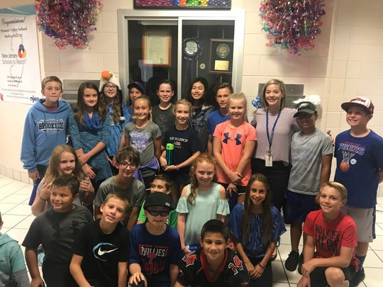 Fifth graders at Pleasant Valley School in Harrison Township spent their fourth grade year being anti-plastic warriors. They converted their classmates to reusable bottles. The bottle fundraiser paid for one of two bottle filling stations.