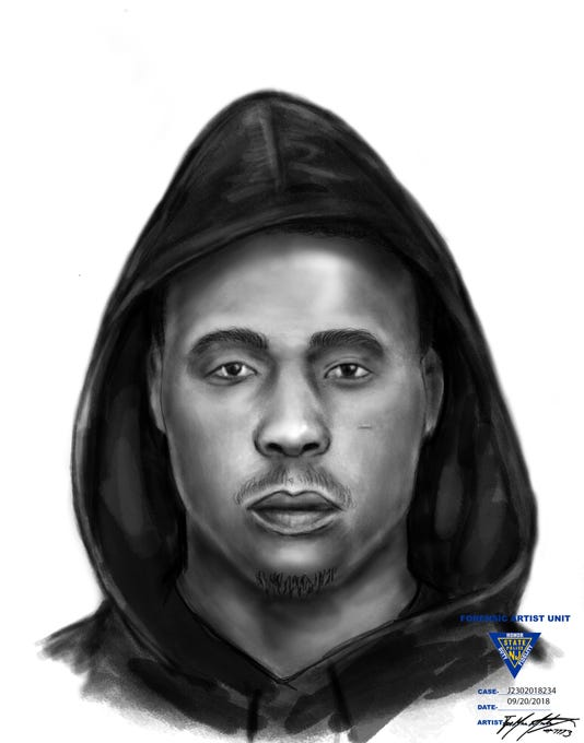Evesham Police Home Invasion Suspect Sketch Sept 17 2018 Nieuw Amsterdam Apts J2302018234