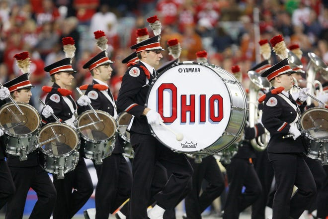 """The Ohio State University's marching band, """" The Best Damn Band in the Land"""" will visit Chillicothe Oct. 21 as Adena Mansion and Gardens will host the event."""
