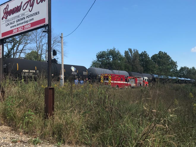 Deputies are investigating the death of a 36-year-old man who was struck by a train in Chillicothe Friday afternoon.