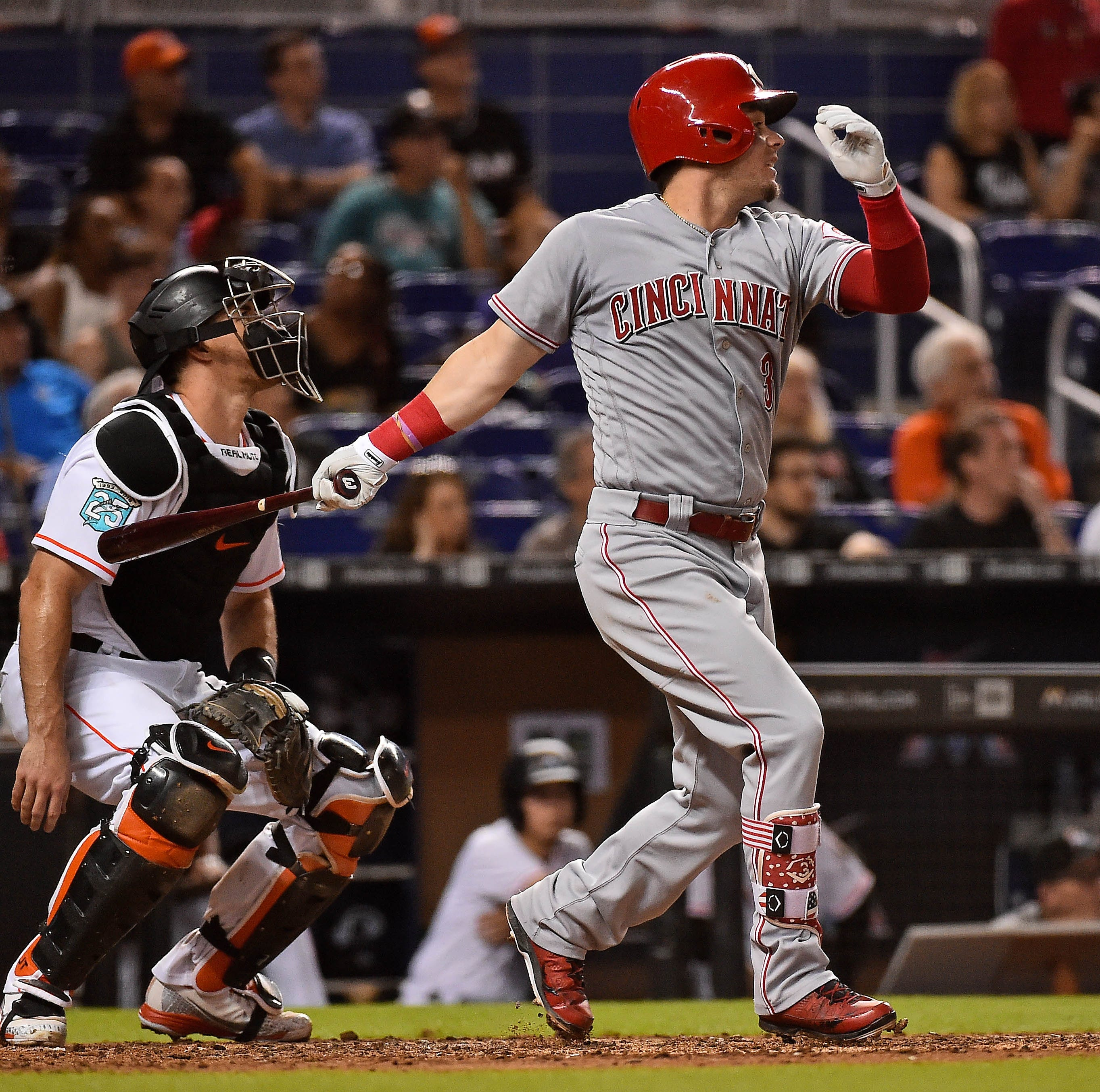 Paul Daugherty: Scooter Gennett's advanced metrics vs. old-school baseball stats