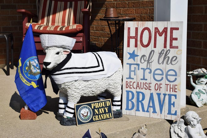 The winner of the Cheviot Bicentennial Sheep Contest was honored Tuesday night, Sept. 18, 2018, at a Cheviot City Council meeting.