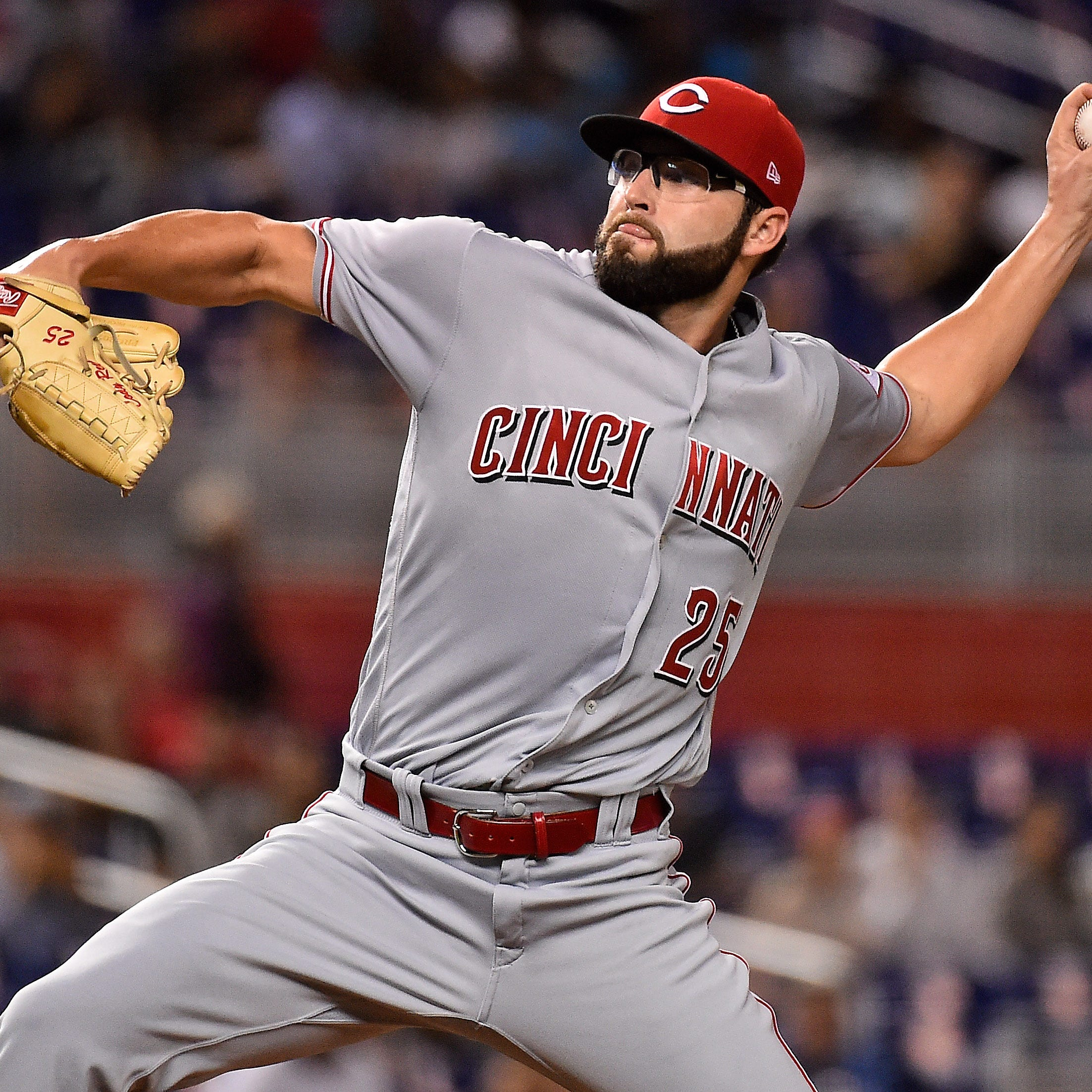 Cincinnati Reds' Cody Reed tosses another scoreless outing, earns 1st win as a starter