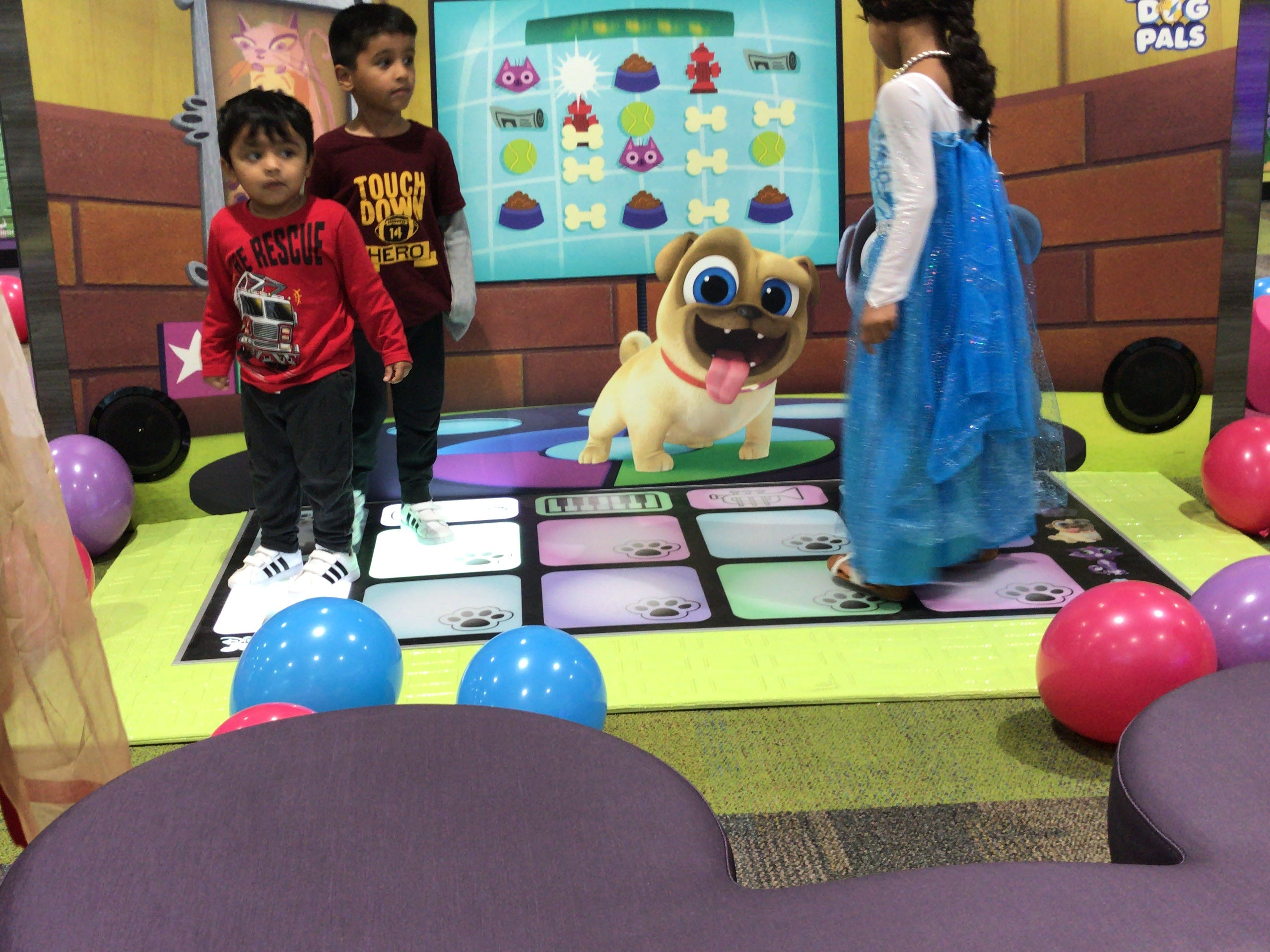 Scenes from the Sept. 21 opening of Disney Junior Play Zone at Menlo Park Mall in Edison.