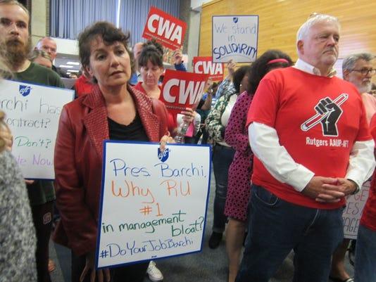 Rutgers protest