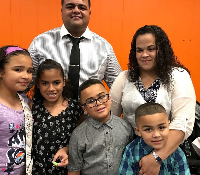 Yaitza Domenech Rosado, her husband Gregory Cruz Vega and their four children were living in Puerto Rico when Hurricane Maria hit. The family relocated to Perth Amboy after the storm.