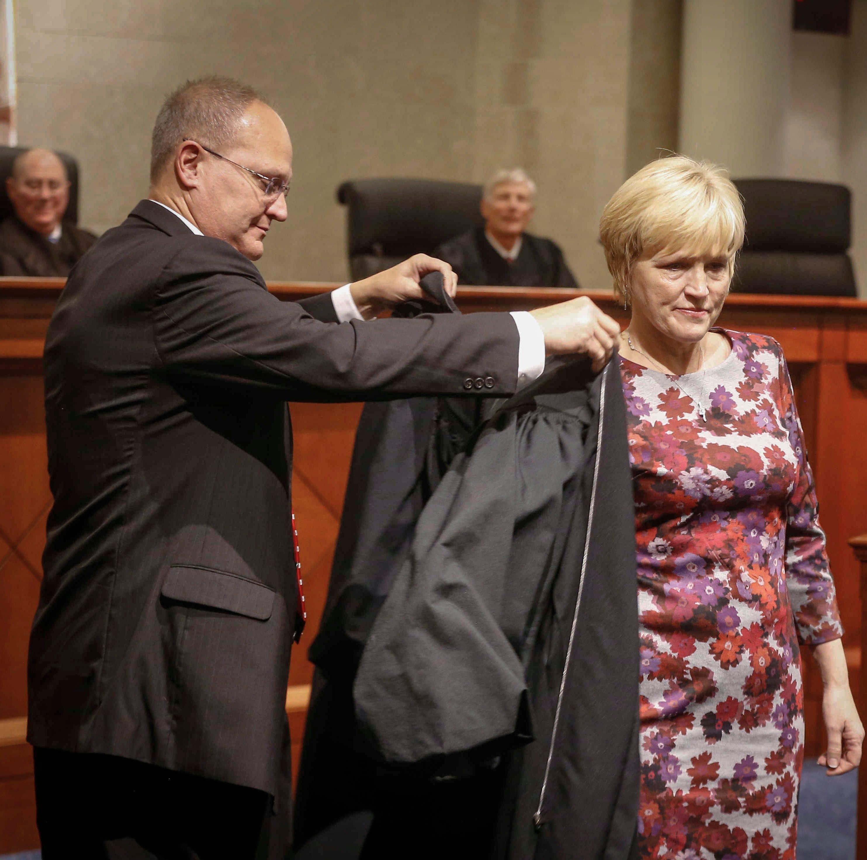 Susan Christensen sworn in as Iowa's newest Supreme Court justice
