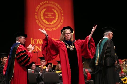 Installation of Wendy Wintersteen, sixteenth president of Iowa State University.