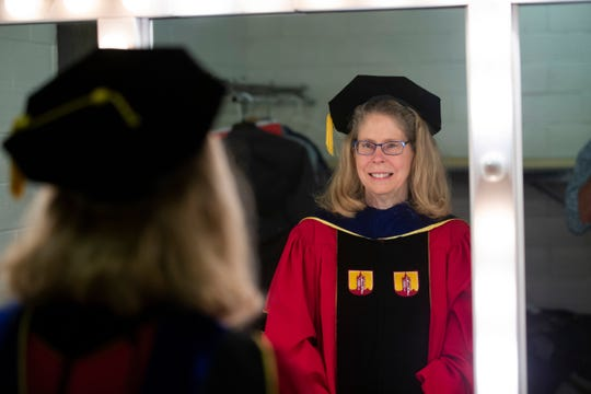 Installation of Wendy Wintersteen, sixteenth president of Iowa State University.  (Christopher Gannon/Iowa State University)