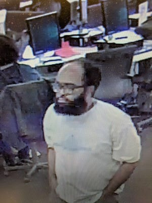 The man suspected of making threats to  former and current employees of Macomb County.