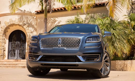 2019 Lincoln Nautilus Improves Safety Fuel Economy