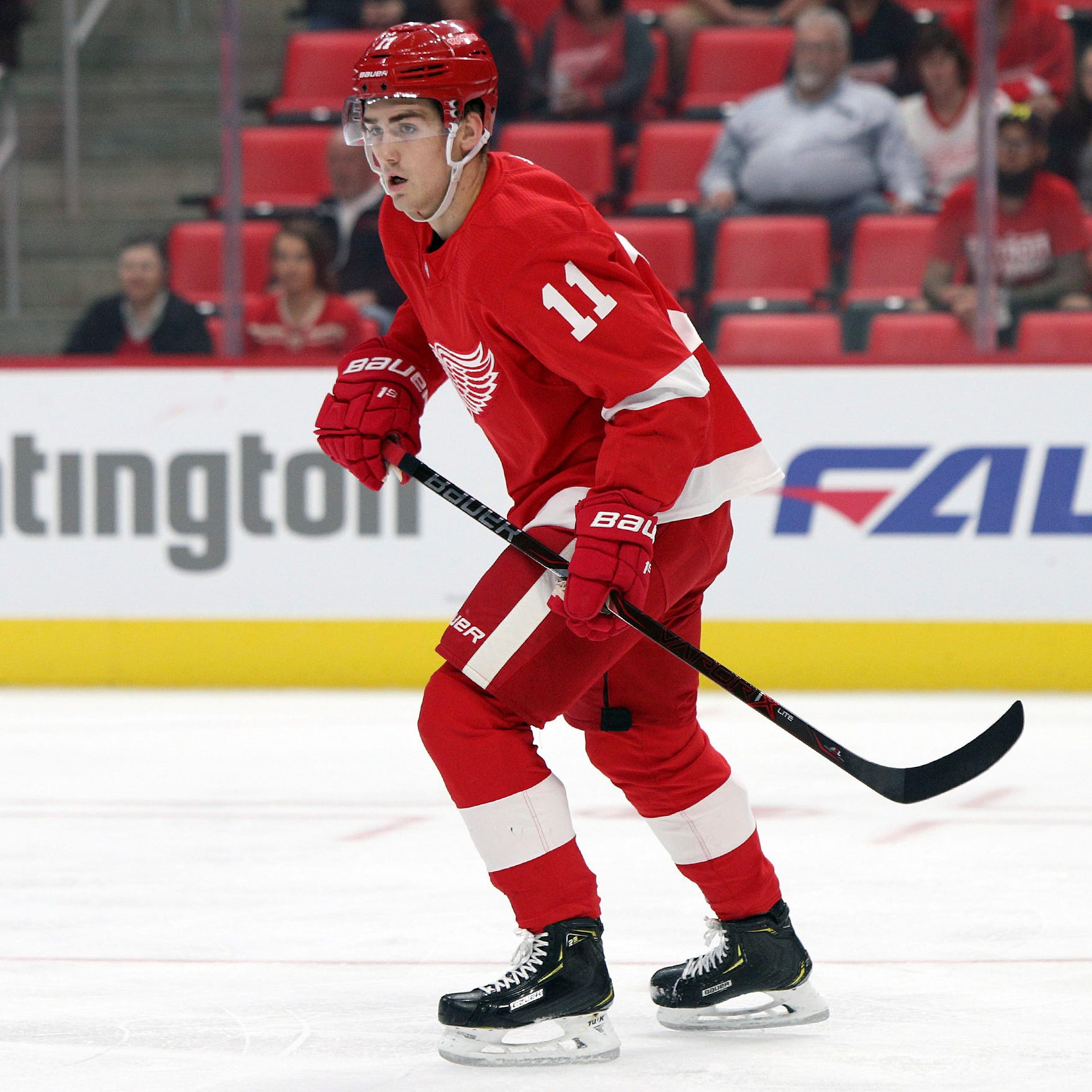 Filip Zadina shaky in debut; Detroit Red Wings win exhibition, 4-2