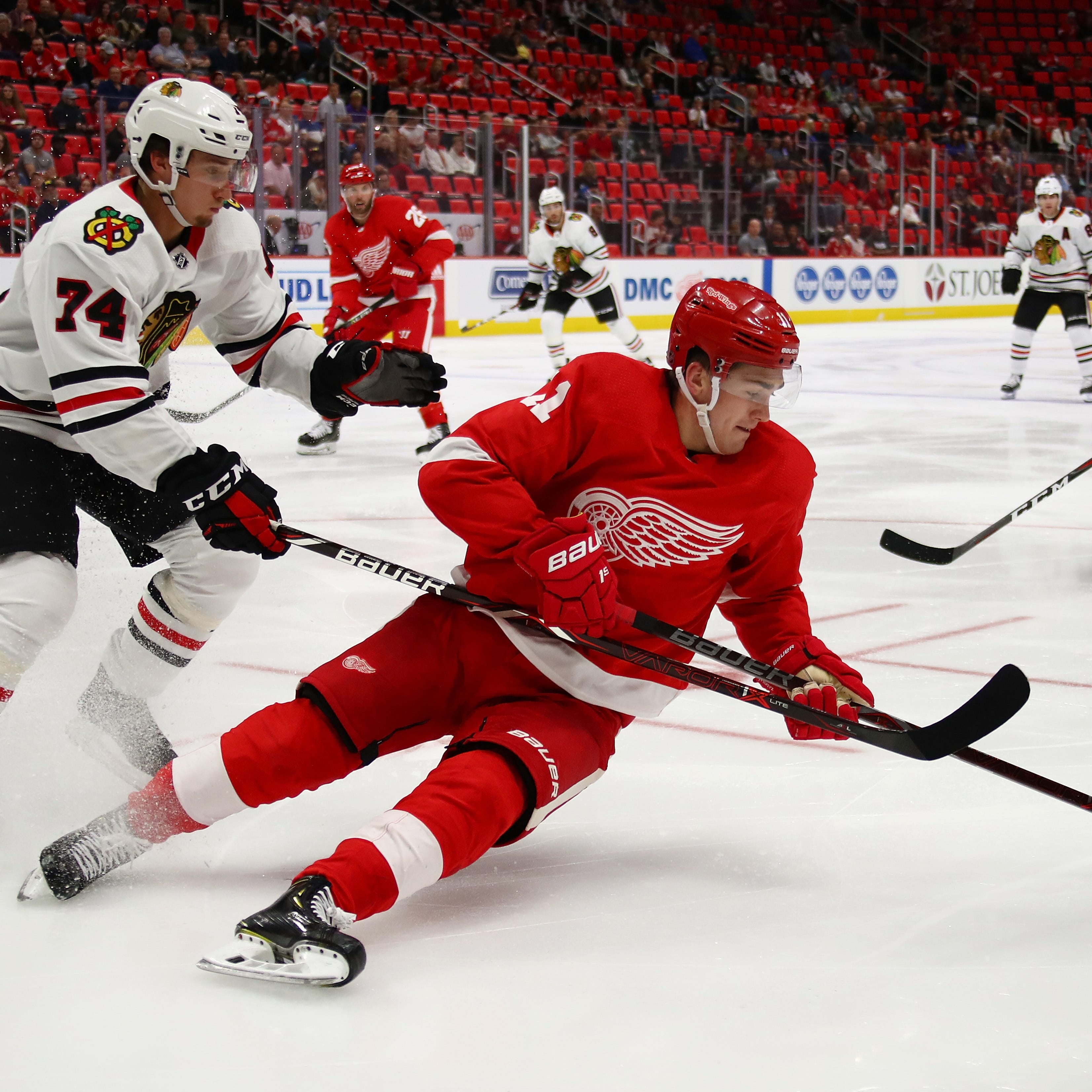Detroit Red Wings prospect Filip Zadina: 'I will be better' next game