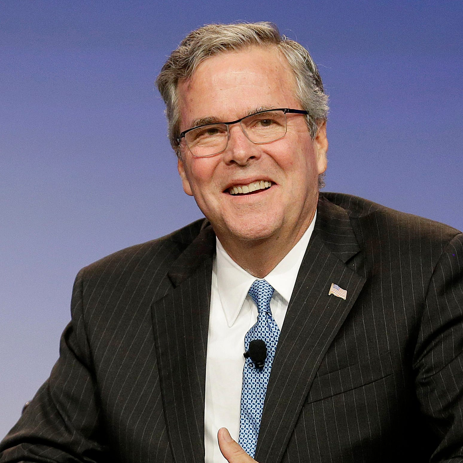 Jeb Bush gives President Donald Trump an F as role model in chief