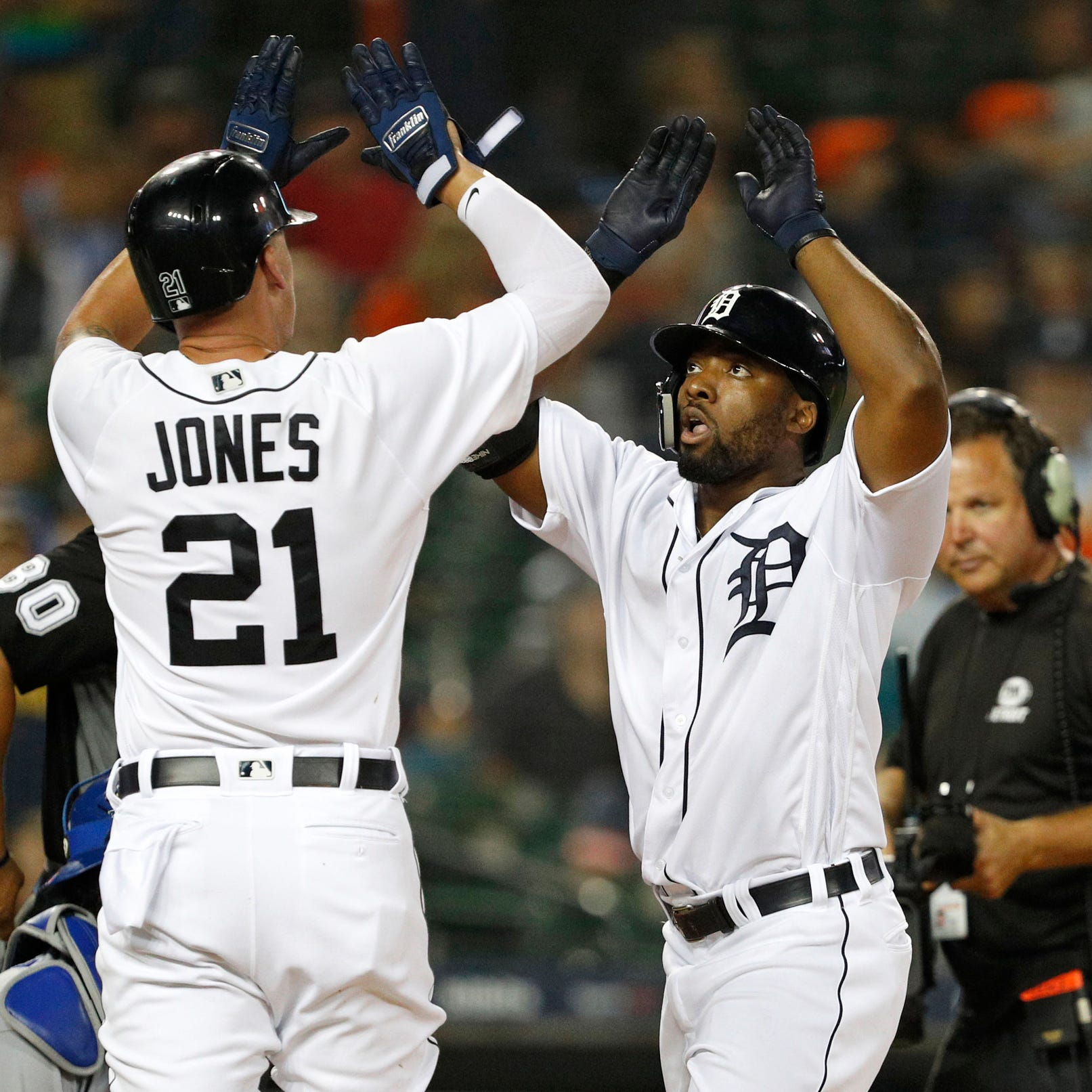 Christin Stewart's power show leads Detroit Tigers to 11-8 win