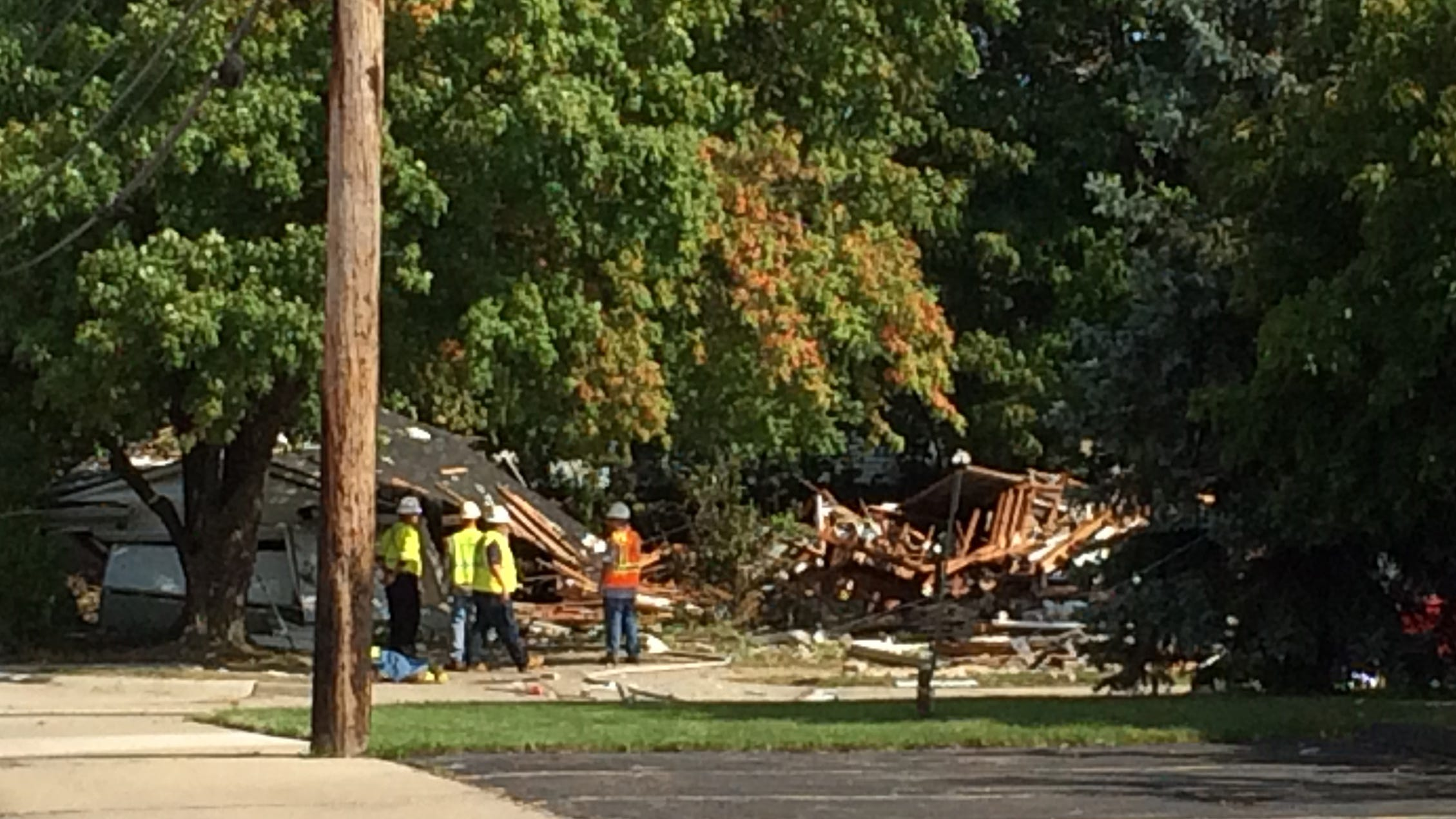 State Police probe Harper Woods house explosion after gas spike
