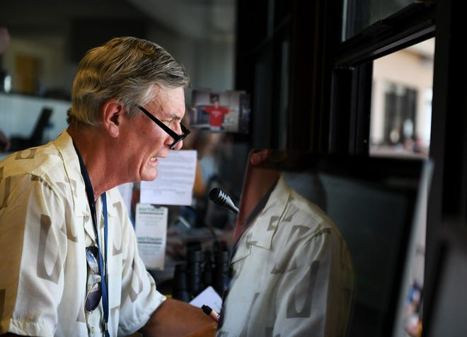 Tigers public-address announcer Bobb Vergiels is retiring after this season.