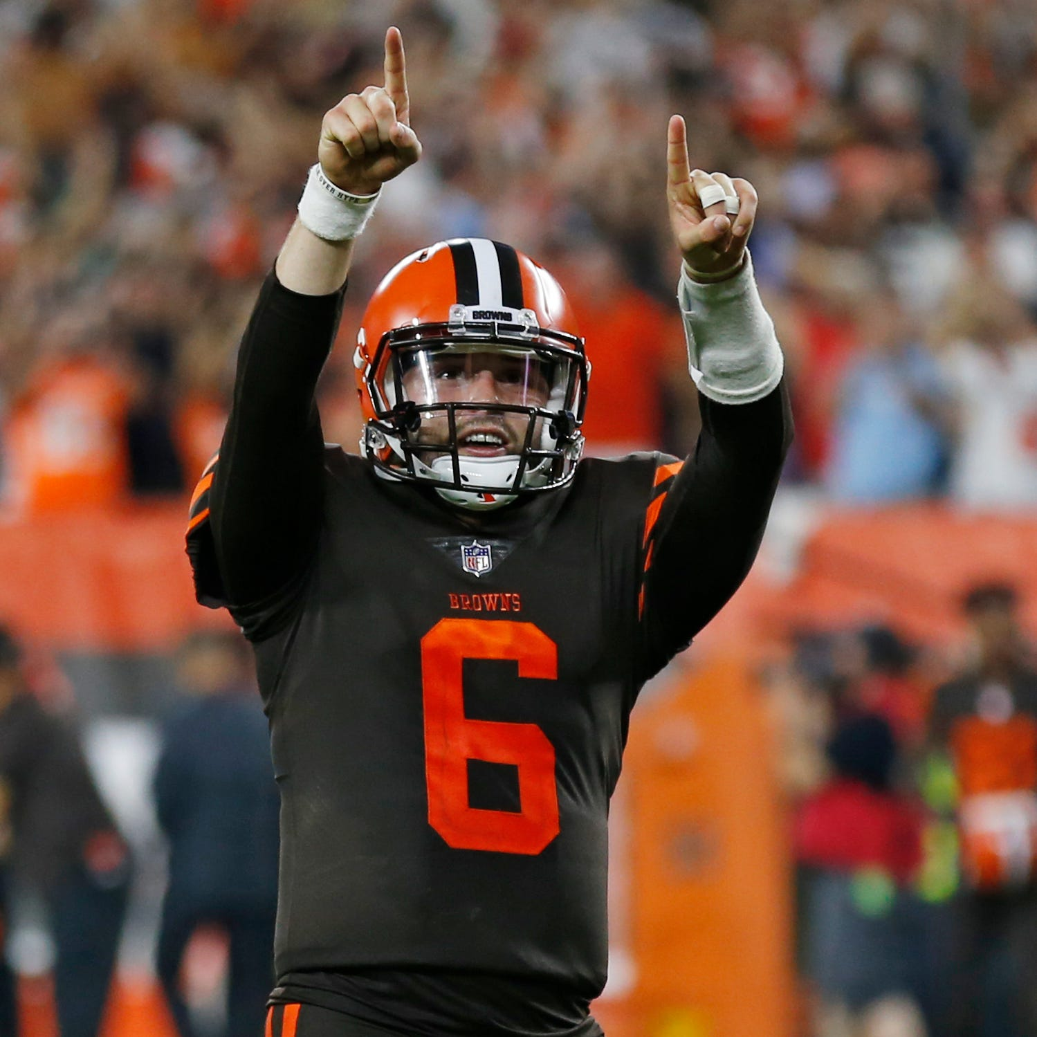 Baker Mayfield era begins as Browns get first win since 2016