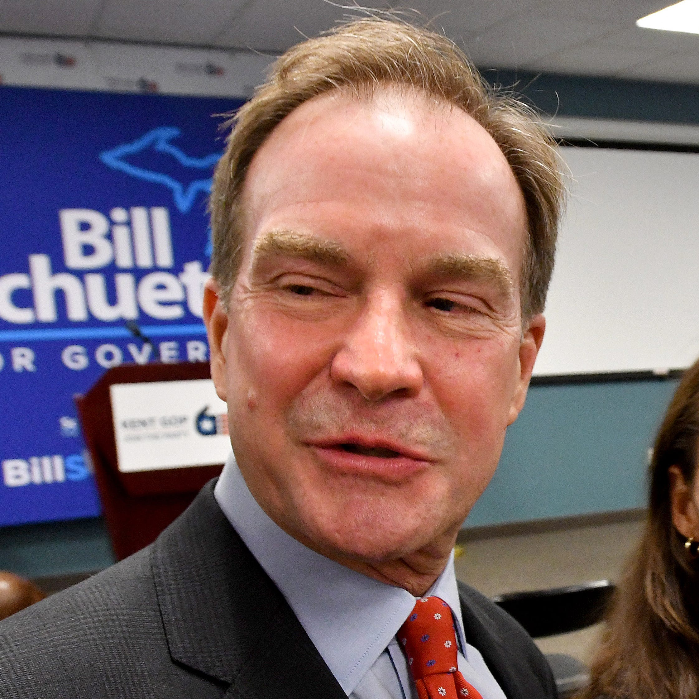 Schuette runs into unusual opponents in bid for governor