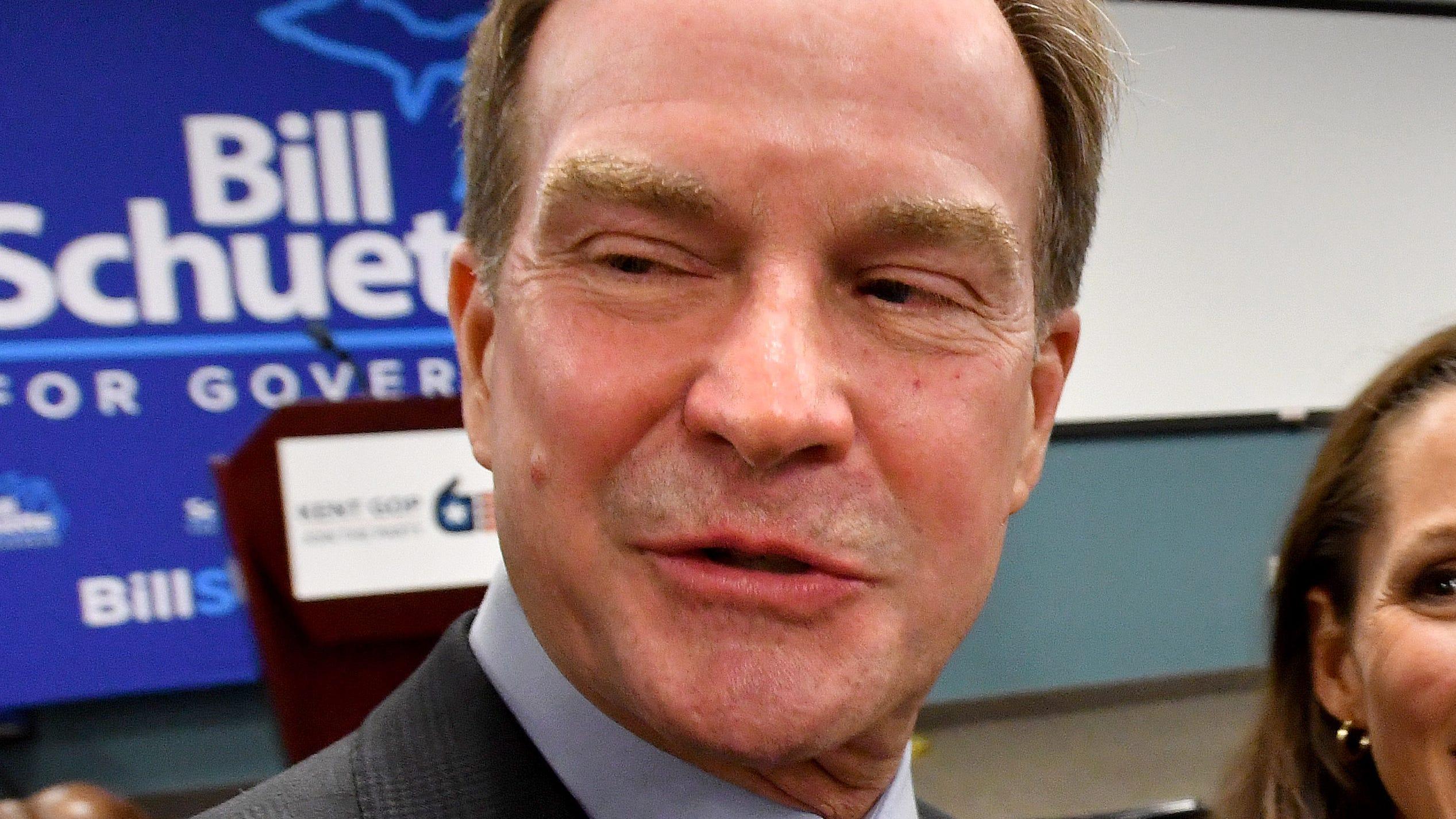 Republican gubernatorial candidate Bill Schuette
