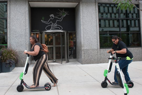 The city of Detroit has teamed with transportation data firm Passport Inc. and scooter company Lime to study how people use the electric scooters.