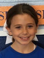 Genevieve Bone, 8, Evansville Day School third grader.