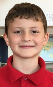Orhan Sarol, 6, Evansville Day School first grader.