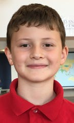 Orhan Sarol, 6, Evansville Day School first grader.