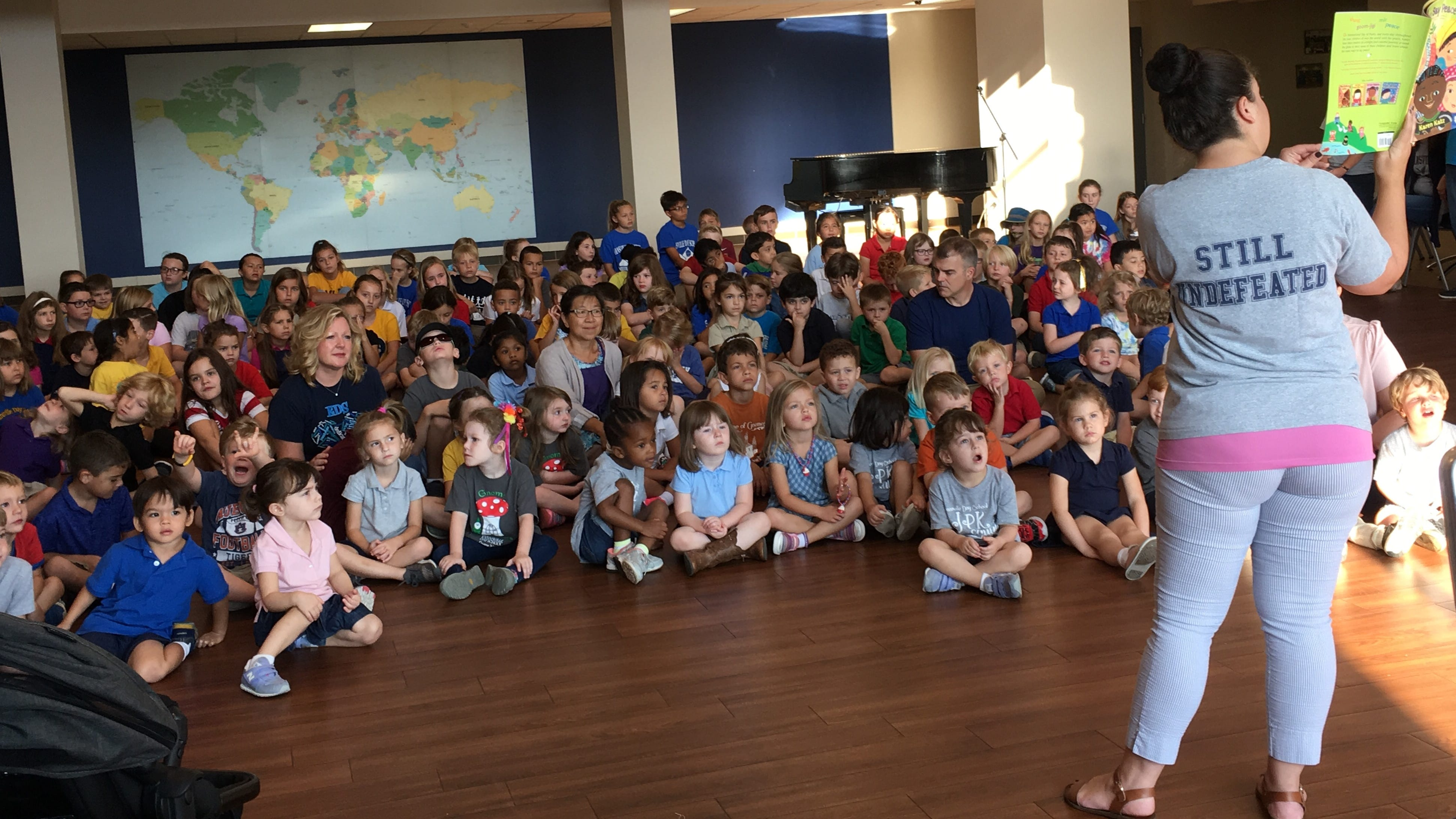 Evansville Day School kids on International Peace Day: What does peace mean to you?