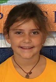 Courtney Traylor, 7, Evansville Day School first grader.