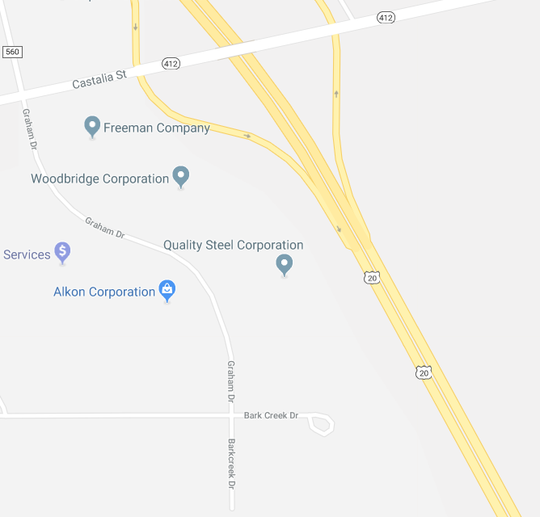 Bark Creek Drive and Graham Drive could act as a connecting road behind the Fremont Country Club golf course to avoid fatal crashes at U.S. 20 and County Road 198.