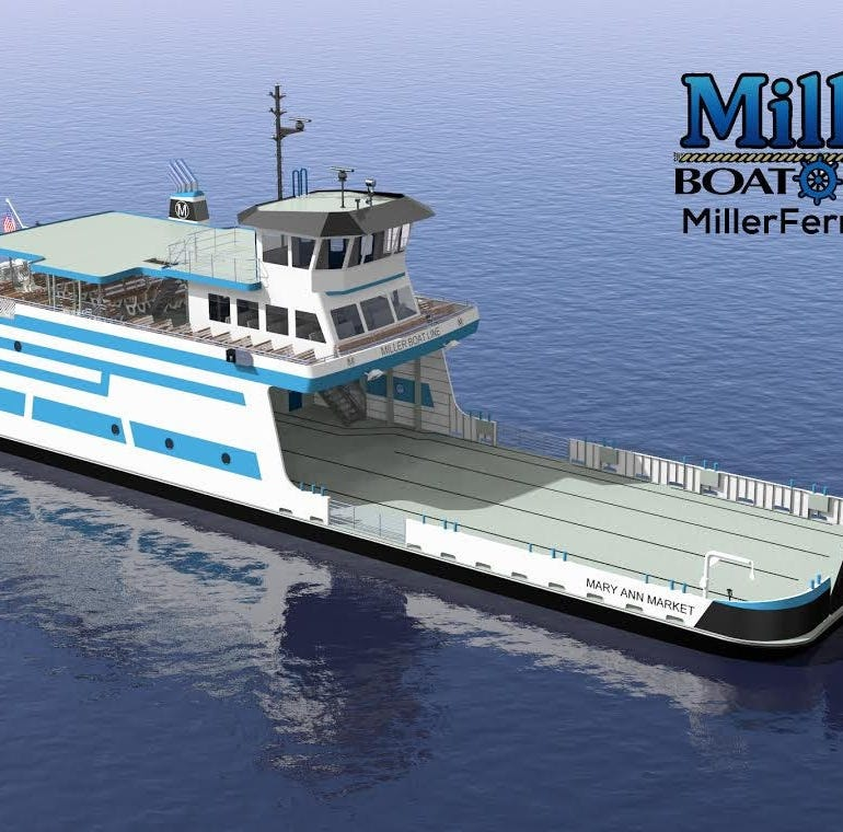 Business Roundup: Miller Boat Line's rendering of new ferry