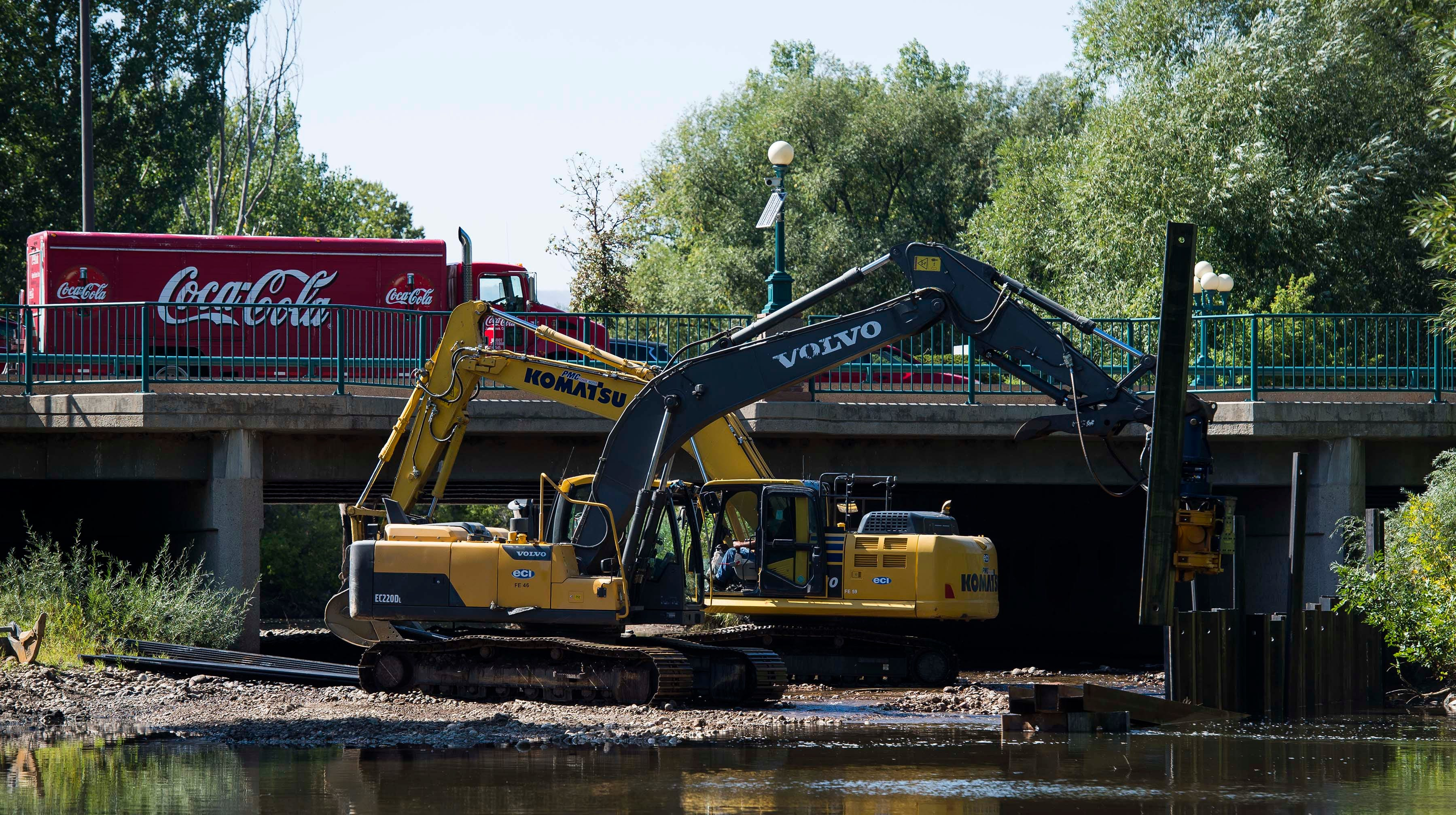 Construction underway for downtown Fort Collins whitewater park