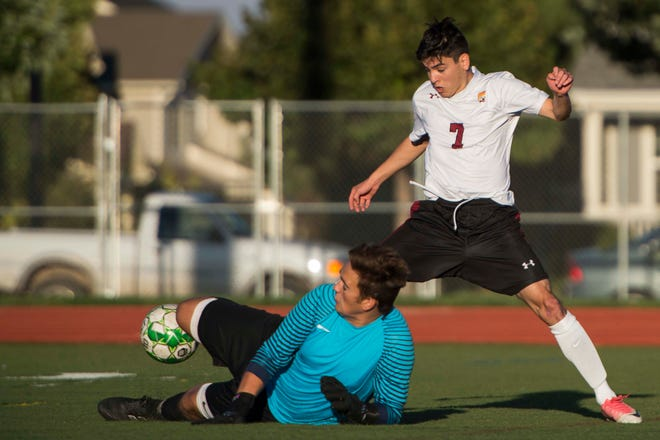 The Rocky Mountain soccer team hosts Cherokee Trail at 6:15 p.m. Wednesday.