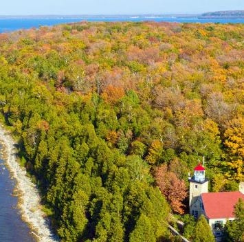 Door County ranks among top 10 for fall colors based on fan votes, voting closes Oct. 2