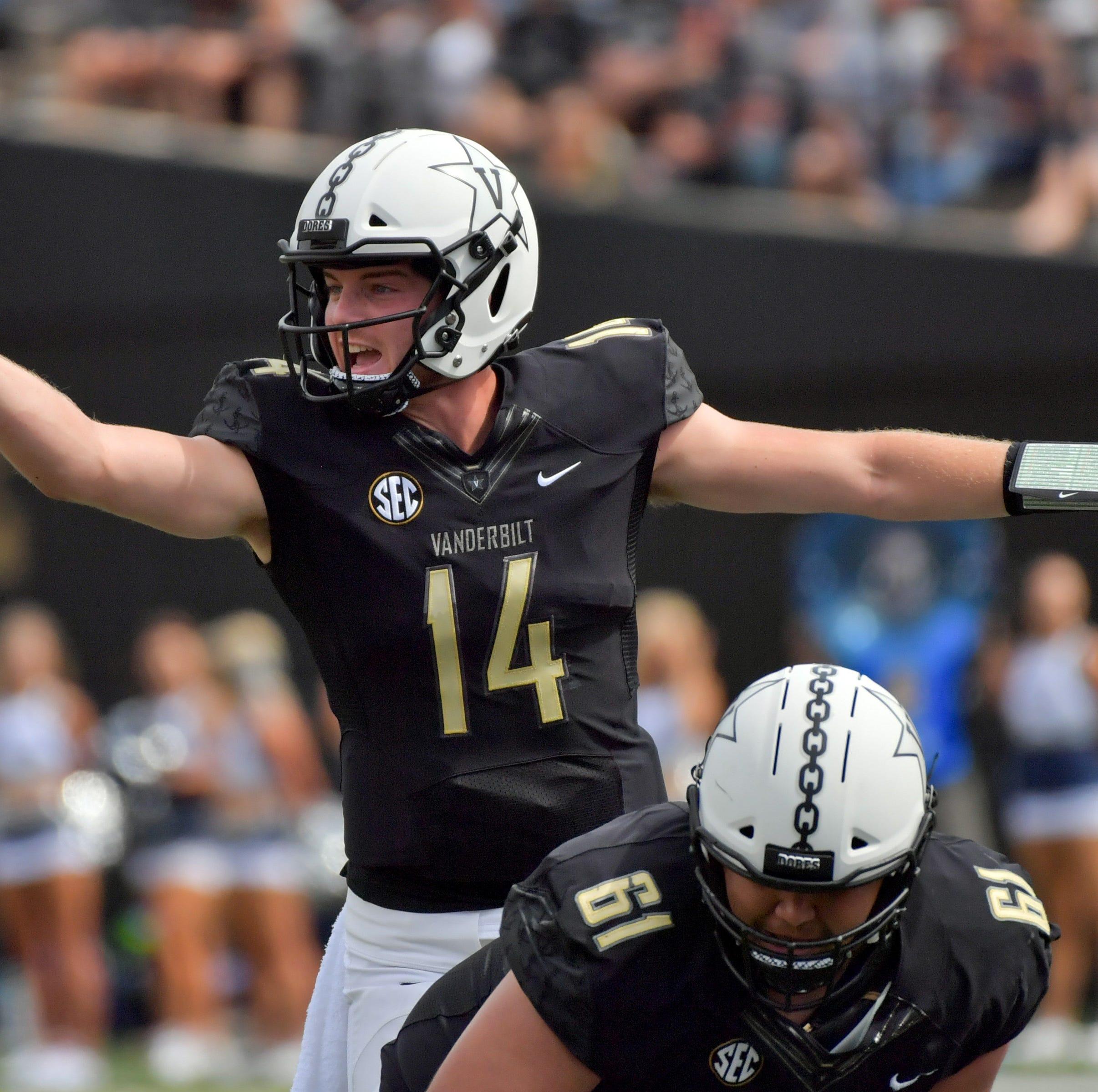 Vanderbilt quarterback Kyle Shurmur's smarts worry South Carolina Gamecocks
