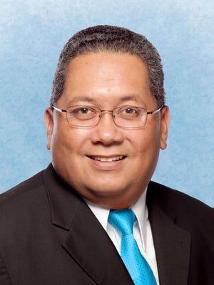 Former Sen. Frank Blas Jr.